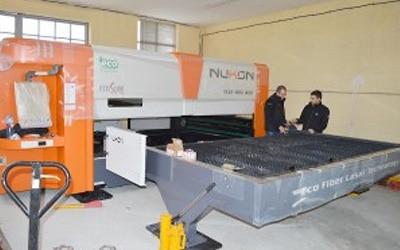Компактният Фибер Лазер ECO вече и в Сливен за производство на осветителни тела АСЯ